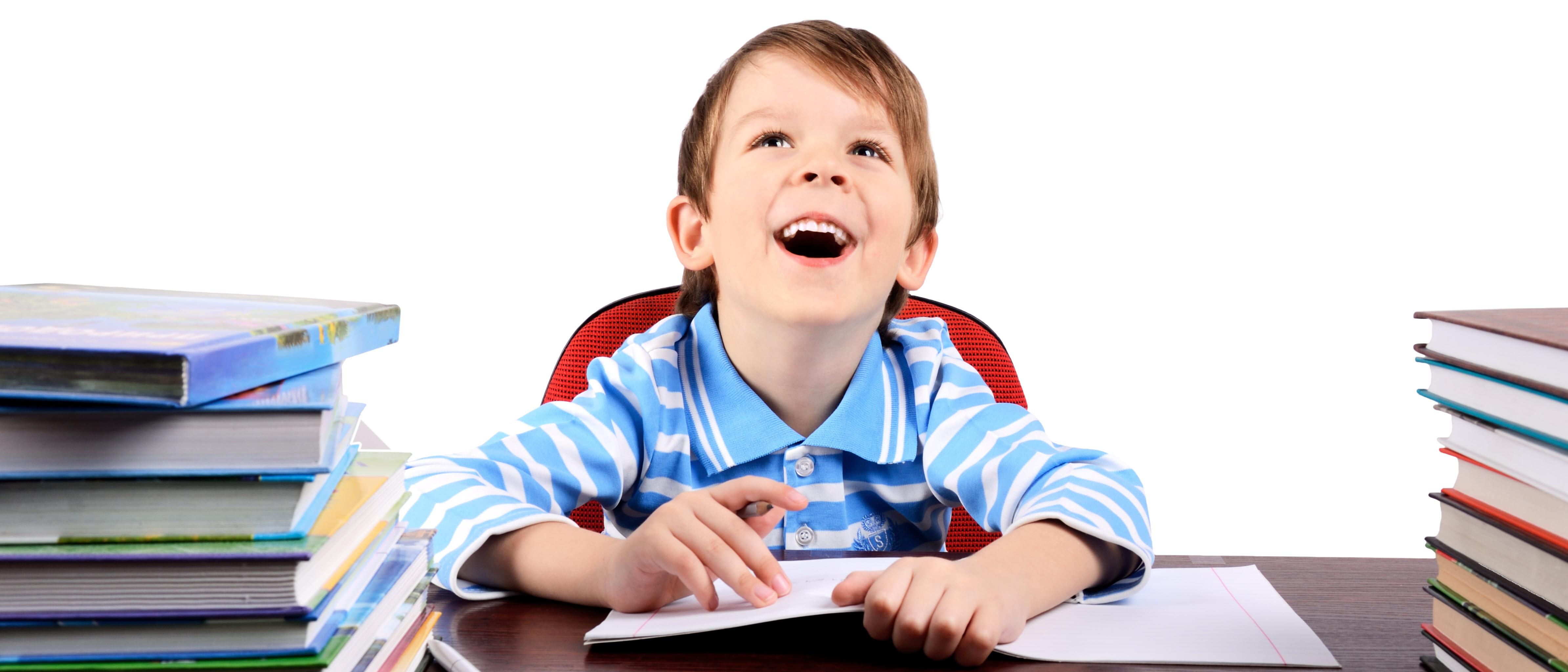 Image of happy student